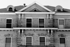 Original Hospital in Grand Forks BW