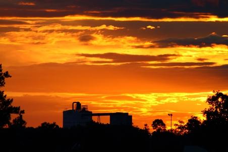 ND Mill Sunset