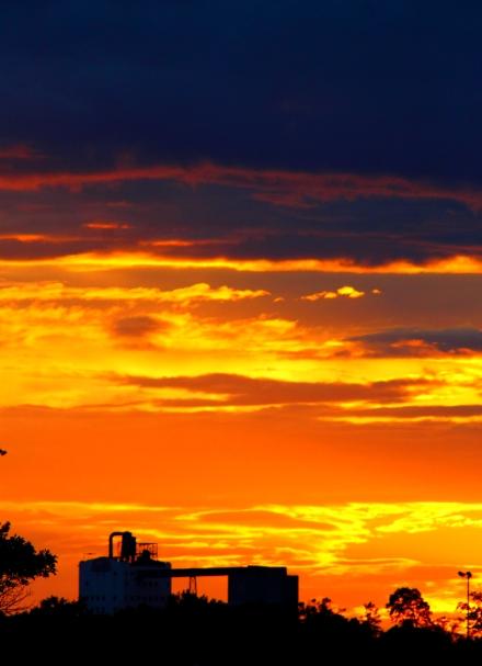Vertical Sunset | ND Mill