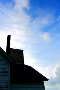 Chimney Blue Sky