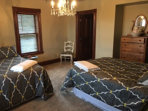 2nd floor two double beds