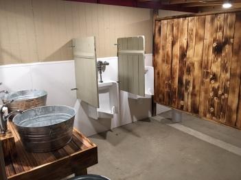 Rustic Men's Bathroom